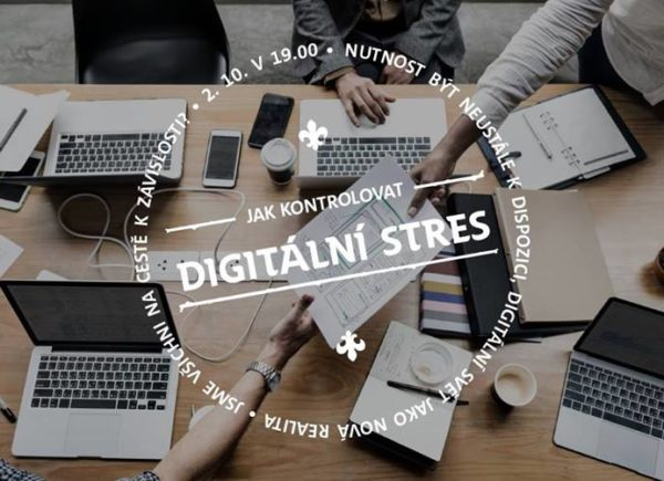 Digitální stres: přednáška ve Skautském institutu na Staromáku