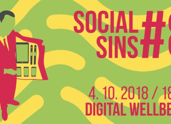 Potkejte se s námi. Social Sins #8 - Digital Wellbeing