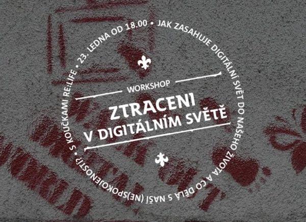 Ztraceni v digitálním světě: přednáška ve Skautském institutu na Staromáku