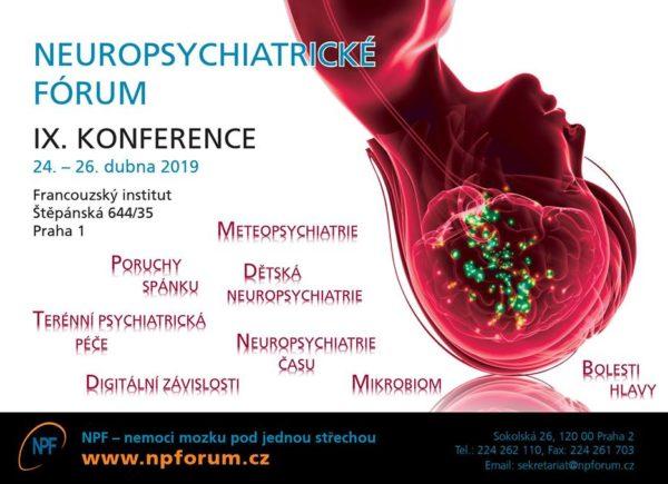 IX. konference Neuropsychiatrického fóra